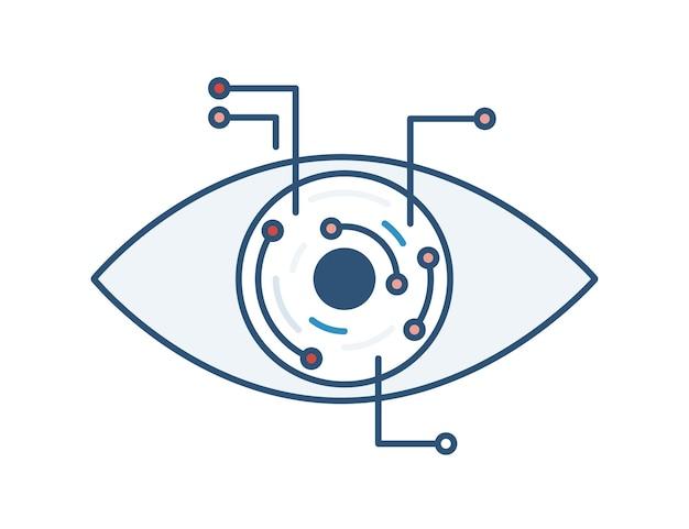 Robotic or electronic eye