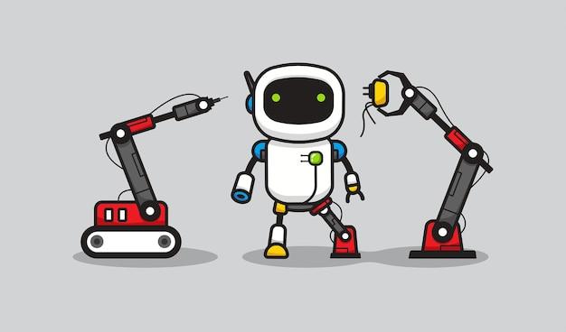ロボットによるマージプロセス