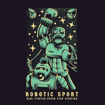 Robotic sport
