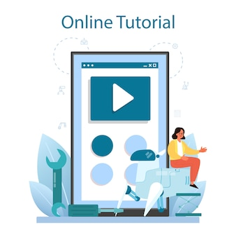 Roboticist online service or platform