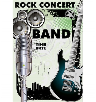 Rock banner
