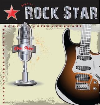 Rock concert background