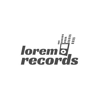 ロックギターパーティーベクトルラベル、バッジ、楽器とエンブレムのロゴ。白い背景で隔離株式ベクトルイラスト