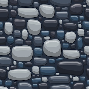 Rock seamless pattern   illustration