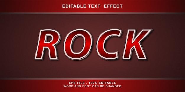 바위 텍스트 효과 편집 가능한 그림