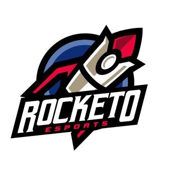 Rocket e sport gaming logo
