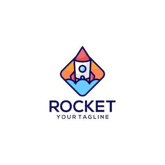 Rocket logo.