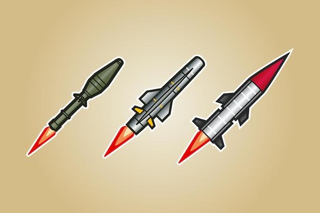로켓 미사일 벡터