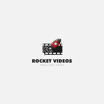 Rocket movieビデオのロゴ