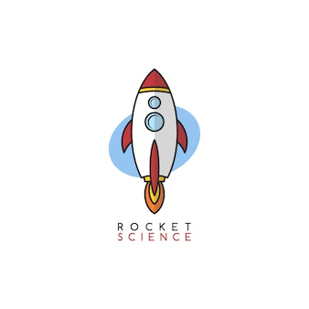 Rocket science space voyager theme