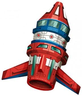 Ракетный корабль с крыльями