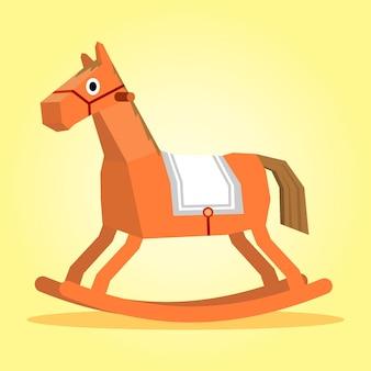 Качающаяся лошадь