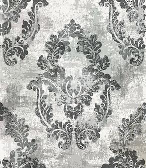 Rococo baroque texture pattern