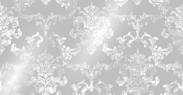 Rococo pattern texture