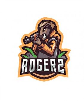 Roger2スポーツロゴ