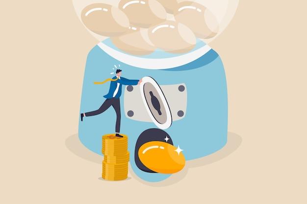 Roi, 투자 수익 또는 높은 수익 및 성공 주식 투자 개념
