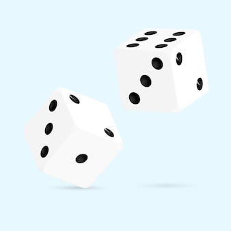Roll dice vector