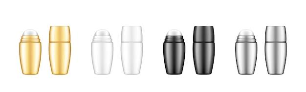 Roller bottle deodorant, or serum, cream, oil set