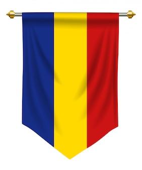 Romania pennant