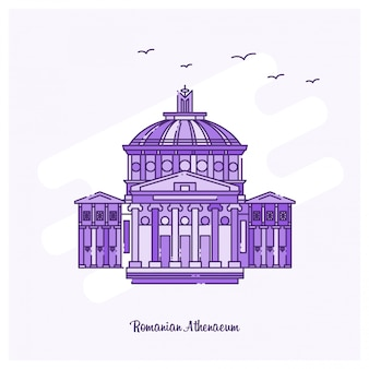 Romanian athenaeum landmark