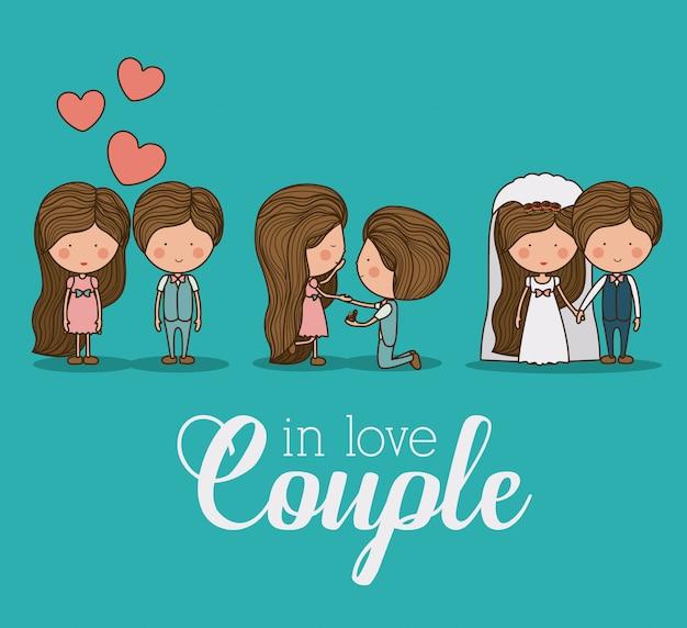 Romantic day illustration