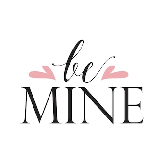 Romantic typographic art lettering suitable for valentine day over white isolated background vector