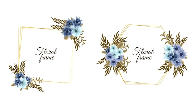 Romantic wreath with quote text place card template flowers invition