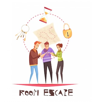 Room escape design concept