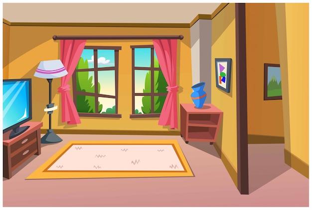 家でくつろぎの部屋。
