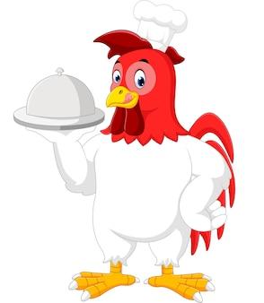 鶏のシェフの漫画