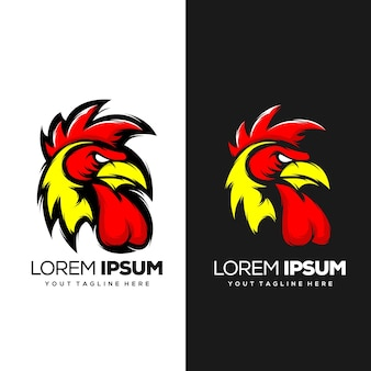 Rooster logo design ready to use