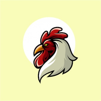 オンドリのロゴデザイン
