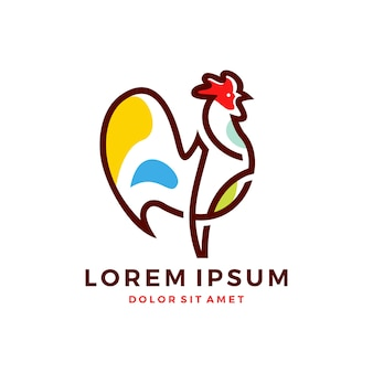 Логотип rooster