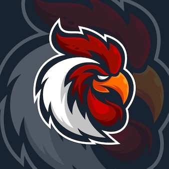 Rooster mascot design