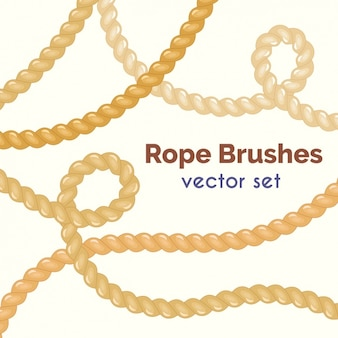 Rope brushes colelction