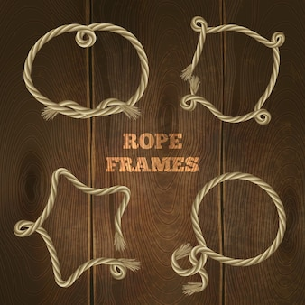 Rope frames set