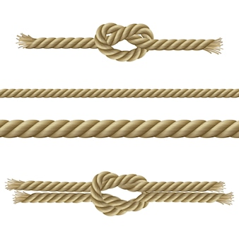 Ropes decorative set