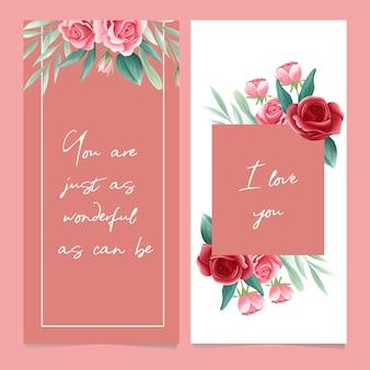 Rose floral arrangement background
