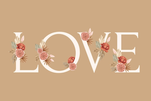 Rose floral arrangement element for wedding card, greeting card, calendar, banner, wallpaper