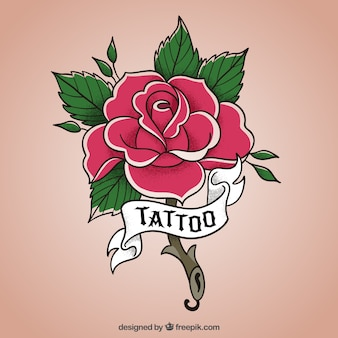 Rose Tattoo Vectors Photos And Psd Files Free Download