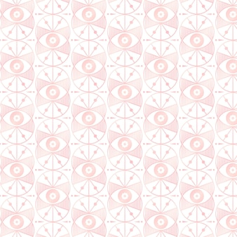 Rose gold art deco pattern design