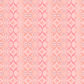 Rose gold art deco pattern