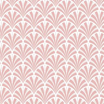 Rose gold art pattern