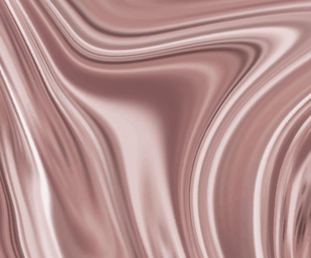 ローズゴールドの液体インクの質感。
