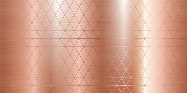 Rose gold metal texture