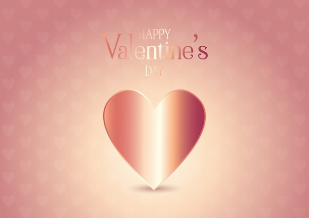 rose gold valentines day background 1048 11591