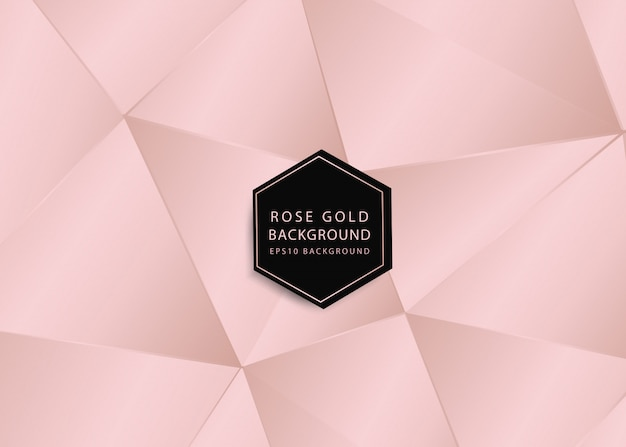 Rosegold abstract background