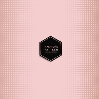 Rosegold halftone background vector