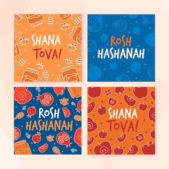 Rosh hashanah card collection
