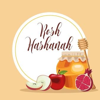 Rosh hashanah frame